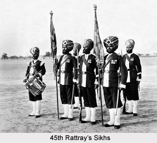 45th (Rattray's Sikh) Native Regiment of Infantry, Bengal Army