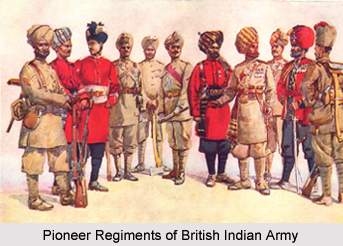 48th Pioneers, Bengal Army