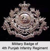4th Punjab Infantry Regiment, Presidency Armies in British India