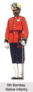 5th Bombay Native Infantry, Bombay Army