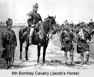 6th Bombay Cavalry (Jacob's Horse), Bombay Army