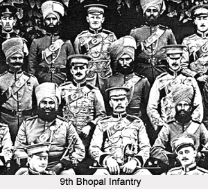 9th Bhopal Infantry, Bengal Army