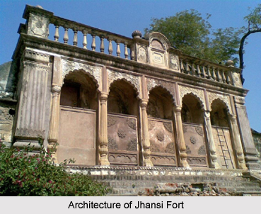 Architecture of Jhansi Fort