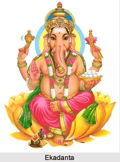 Ekadanta, Form of Lord Ganesha
