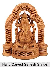 Wood Art , India