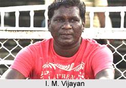 I M Vijayan, Indian Football Player