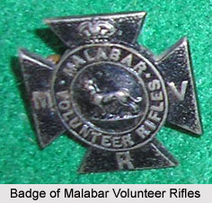 Malabar Volunteer Rifles, Presidency Armies in British India
