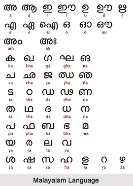 Malayalam, Language of India