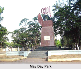May Day Park, Chennai, Tamil Nadu