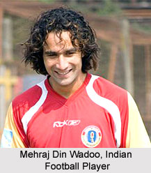 Mehraj Din Wadoo, Indian Hockey Player