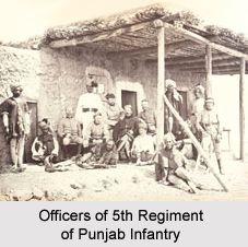 5th Regiment of Punjab Infantry, Presidency Armies in British India