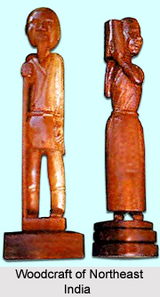 Woodcraft of Northeast India