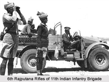11th Indian Infantry Brigade, Presidency Armies in British India