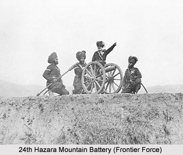 24th Hazara Mountain Battery (Frontier Force), Presidency Armies in British India