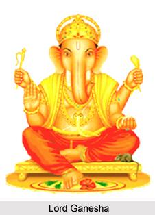 Attendants of Lord Ganesha