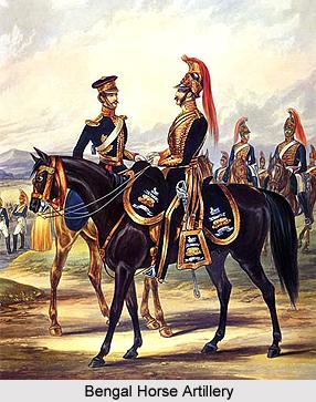 Bengal Horse Artillery, Bengal Army