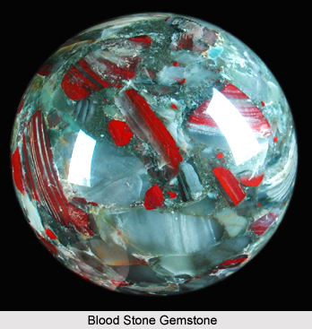 Bloodstone, Gemstone