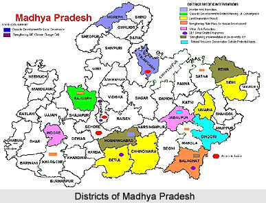 Districts of Madhya Pradesh