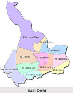 East Delhi district