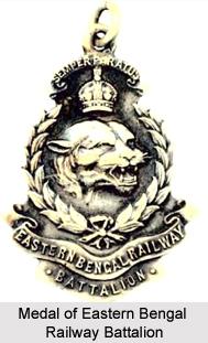 Eastern Bengal Railway Battalion, Bengal Army