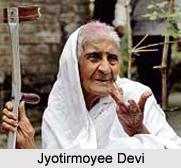 Jyotirmoyee Devi , Indian Social Activist
