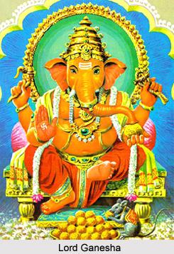 Legend of Lord Ganesha and King Kanakavarsa
