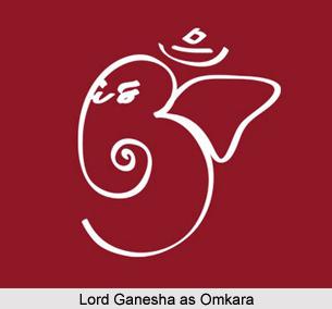 Lord Ganesha as Omkara