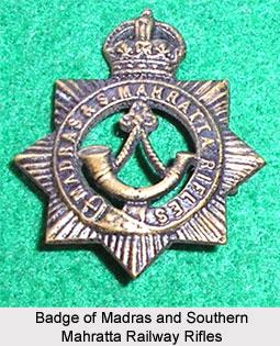 Madras Railway Volunteers, Madras Army