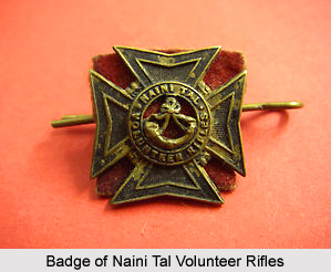 Naini Tal Volunteer Rifles, Presidency Armies in British India