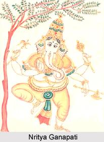 Nritya Ganapati, Form of Lord Ganesha