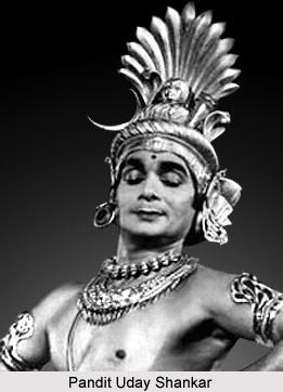 Pandit Uday Shankar, Indian Dancer