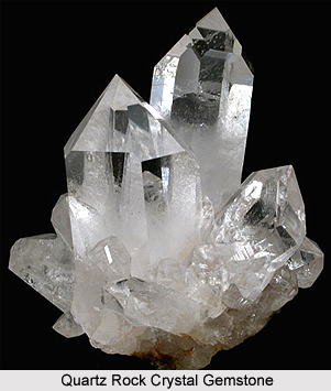 Quartz  Rock Crystal  , Gemstones