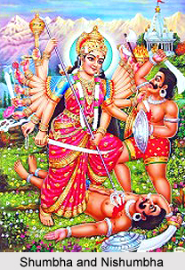 Shumbha and Nishumbha