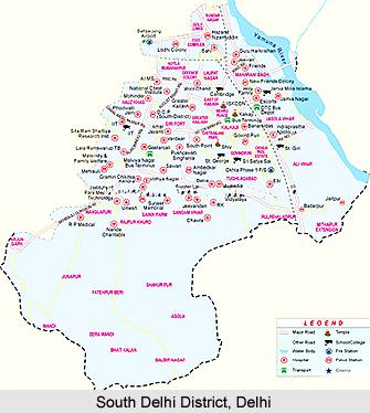 South Delhi District, Delhi