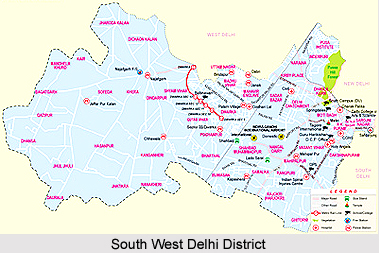 South West Delhi District, Delhi
