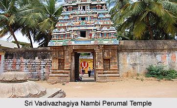 Sri Vadivazhagiya Nambi Perumal Temple, Tamil Nadu