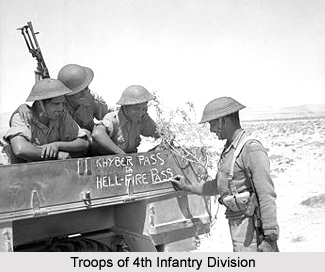 Indian 4th Infantry Division, Presidency Armies in British India