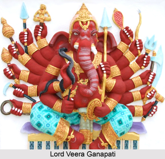 Veera Ganapati, Form of Lord Ganesha