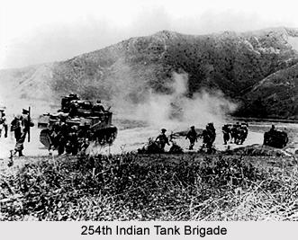 254th Indian Tank Brigade, Presidency Armies in British India