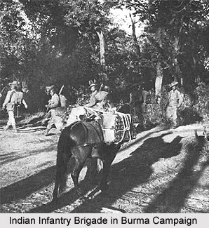 26th Indian Infantry Brigade, Presidency Armies in British India