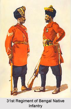 31st Regiment of Bengal Native Infantry