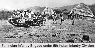 17th Indian Infantry Brigade, Presidency Armies in British India