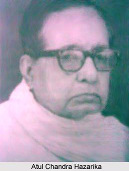 Atul Chandra Hazarika, Assamese Literature