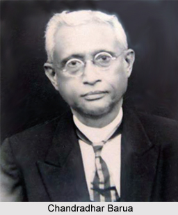 Chandradhar Barua, Assamese Literature