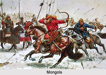 Conflict between Chagatai Mongols and Delhi Sultanate