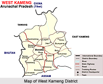 Geography of West Kameng District