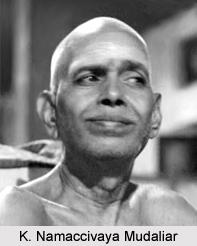 K. Namaccivaya Mudaliar, Tamil Author