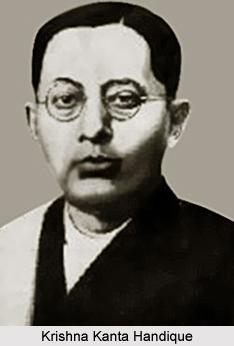 Krishna Kanta Handique, Assamese Literature