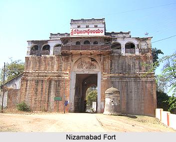 Nizamabad Fort, Andhra Pradesh