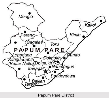 Papum Pare District, Arunachal Pradesh